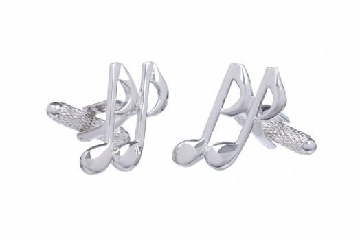 Musical Note Quaver Cufflinks